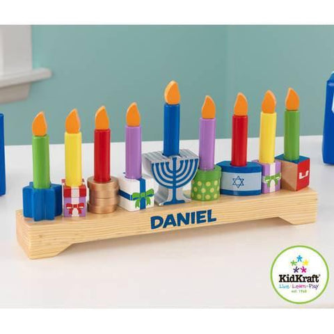 KidKraft 62907 Children's Menorah - Peazz.com