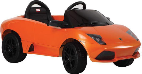 Vroom Rider VR81300-OR Lamborghini Murciélago LP 640-4 Rastar 6V - Battery Operated/Remote Controlled (Orange) - Peazz.com