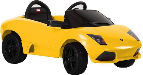 Vroom Rider VR81300-YEL Lamborghini Murciélago LP 640-4 Rastar 6V - Battery Operated/Remote Controlled (Yellow) - Peazz.com