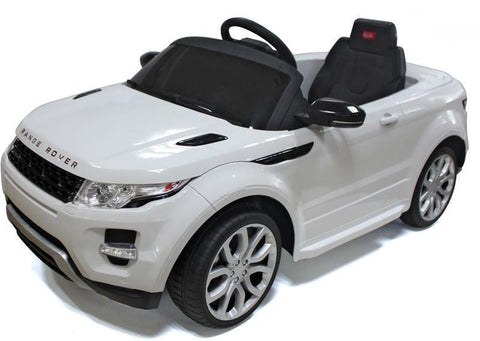 Vroom Rider VR81400-WH Range Rover Rastar 12V - Battery Operated/Remote Controlled (White) - Peazz.com