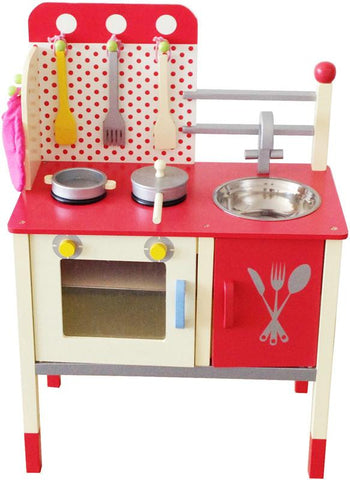 Berry Toys W10C027 Cute & Fun Wooden Play Kitchen - WarehouseSpot