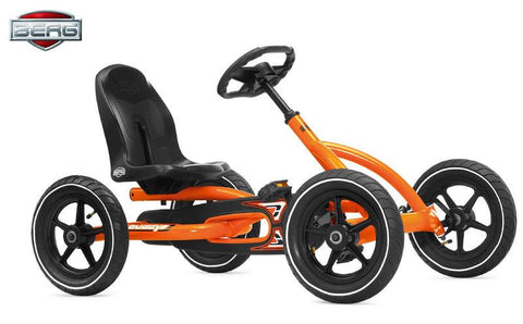 BERG Toys Buddy Pedal Go Kart 24.20.60 - Orange - WarehouseSpot