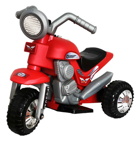 Mini Battery Operated Kids Motorbike (Red) - Peazz.com