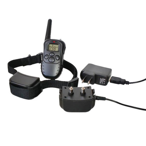 300 Yard Petrainer Rechargeable & Waterproof Remote Training Collar - MK998DR-1D - WarehouseSpot