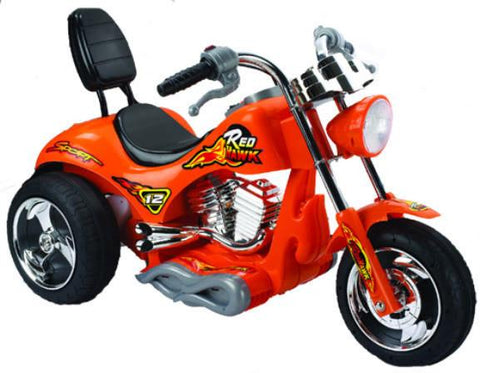 Red Hawk Motorcycle 12v Orange ZP-5008-OR - WarehouseSpot