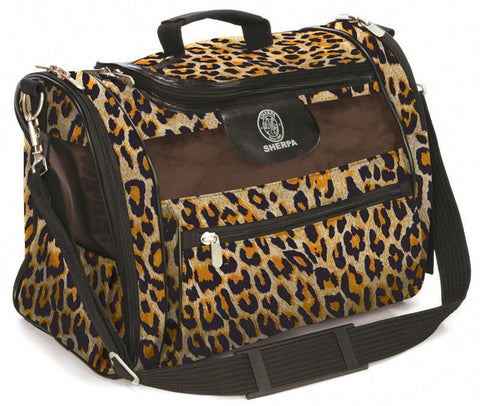 Sherpa 56230 Cat Tote Leopard Print - WarehouseSpot
