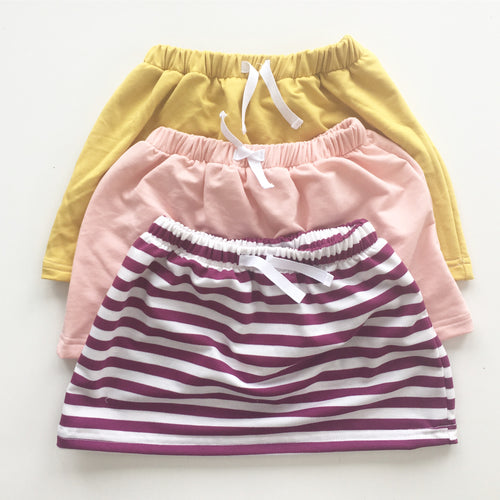 Lola Skirt in Magenta Stripe