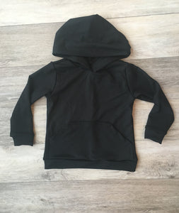 Wyatt Cash Hoodie in Black