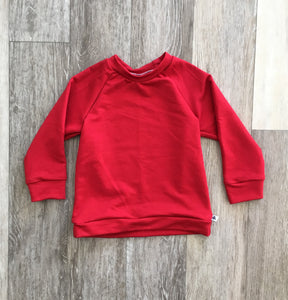Chelsey Crew Neck in Cherry