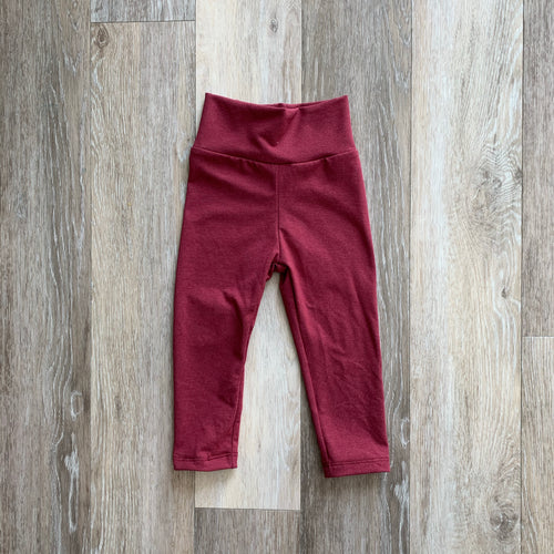 Jena Legging in Burgundy