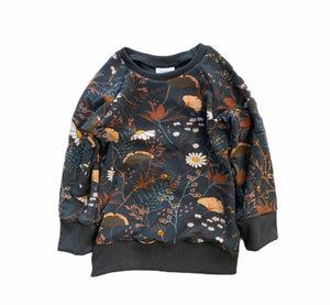 Chelsey Crewneck in Flower Field