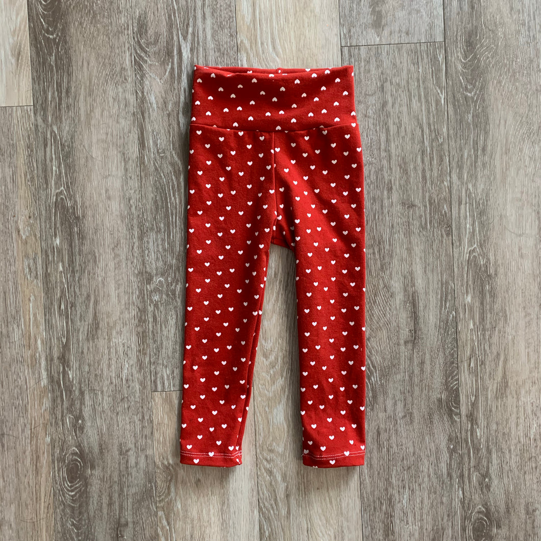Jena Legging in Red Hearts