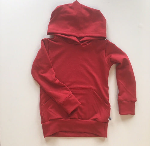 Wyatt Cash Hoodie in Red