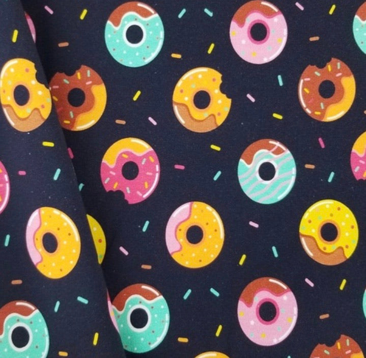Basic Peplum in Donuts