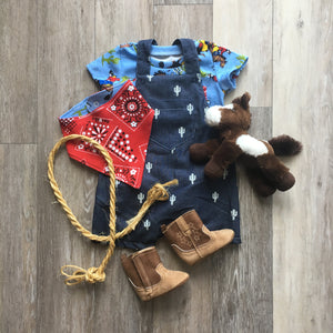 Garth Overall Shorts