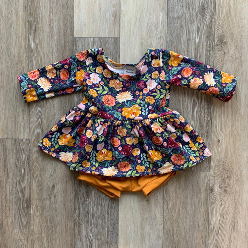 Penney Peplum in Floral
