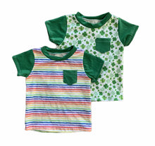 Louis Tee in St. Patrick's Day fabrics