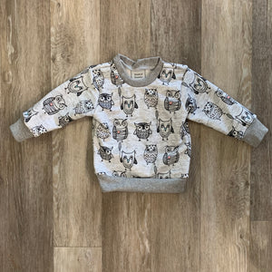 Chelsey Crew Neck in Owls