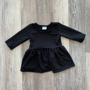 Penney Peplum in Black