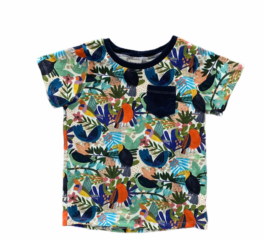 Louis Tee in Tropical Birds
