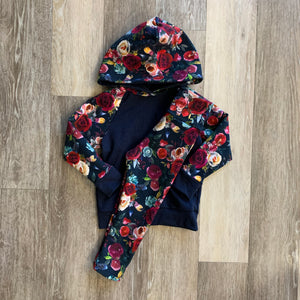 Jena Legging in Navy Floral