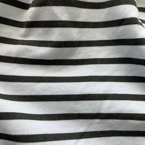 Jena Legging in Black and White Stripe