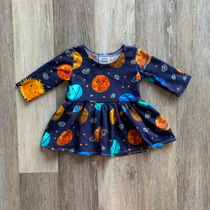 Penney Peplum in Planets
