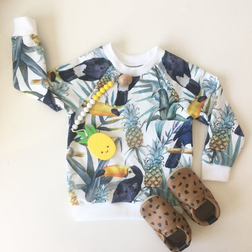 Chelsey Crewneck in Toucan