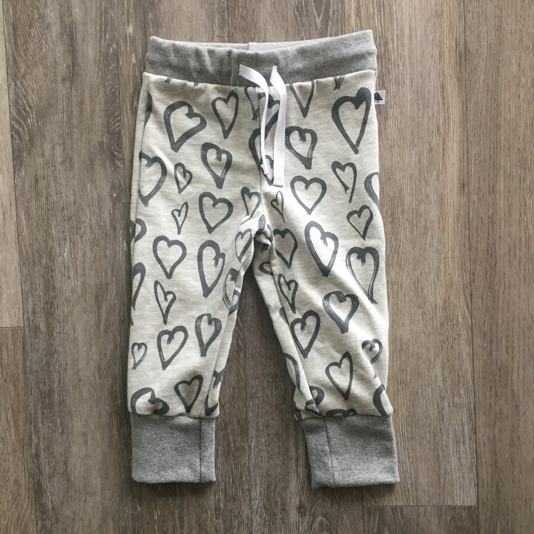 Ashley Joggers in Hearts