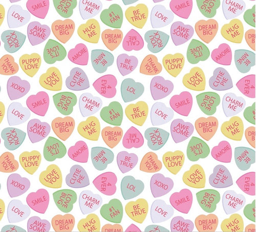 Jena Leggings in Conversation Hearts