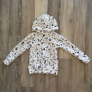 Wyatt Cash Hoodie in Paint Splatter
