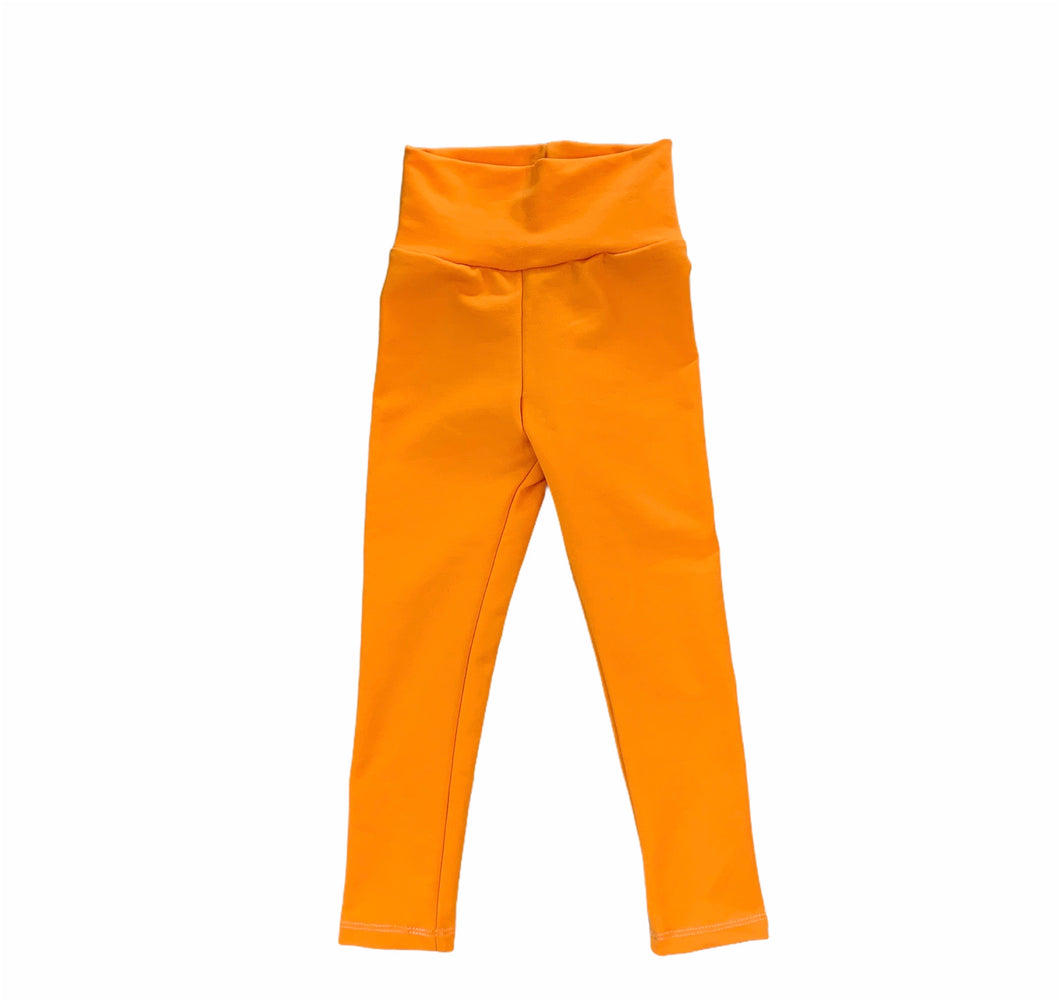 Jena Leggings in Creamsicle Orange