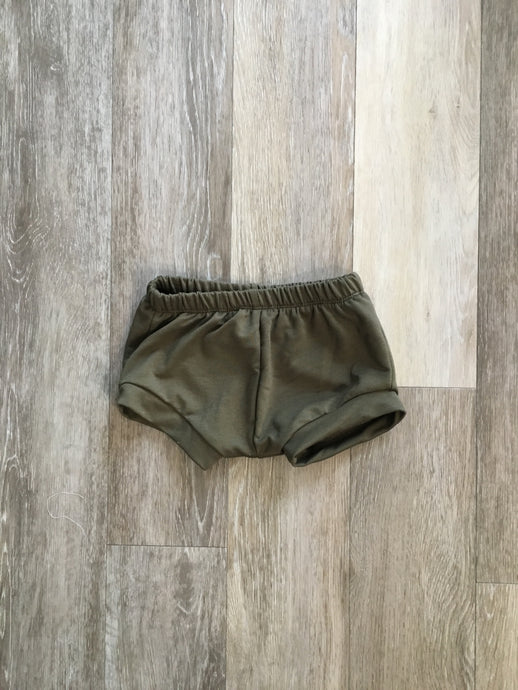 Whitney Shorties in Olive