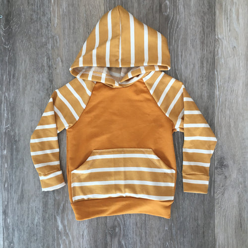 Lincoln Hoodie in Caramel