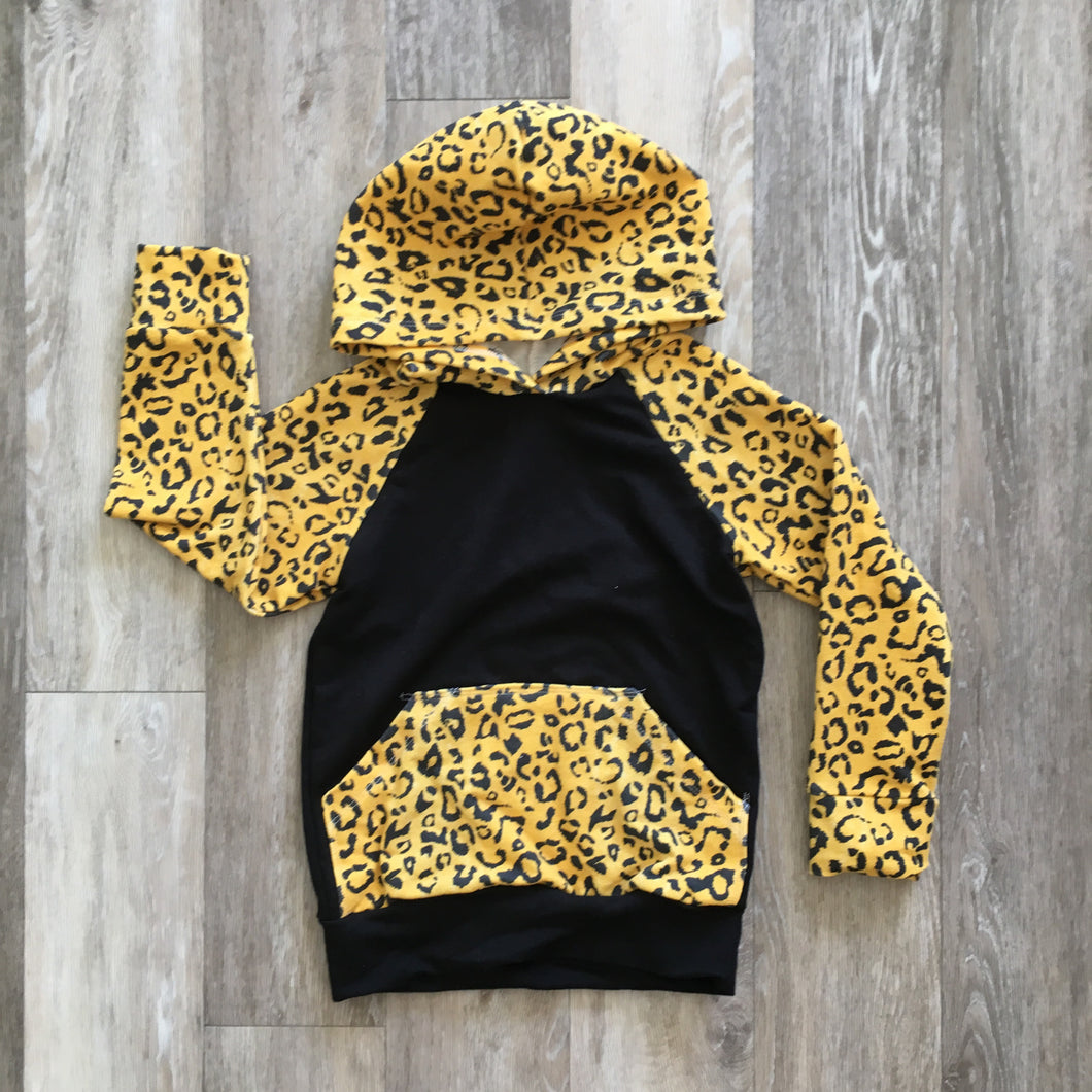 Lincoln Hoodie in Cheetah