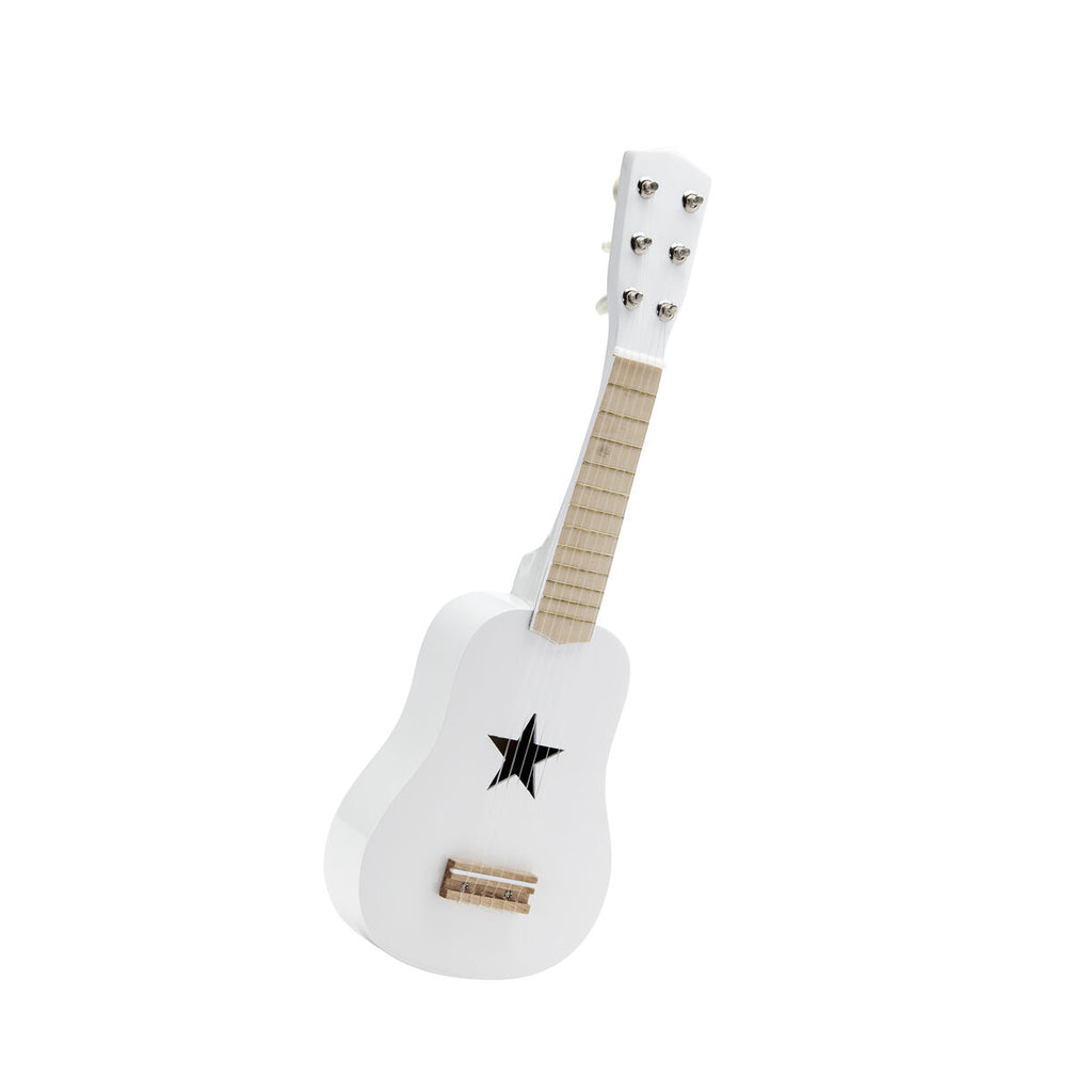 Guitar - Wooden - White