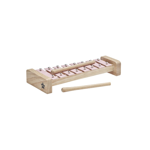 Xylophone - Wooden - Pink