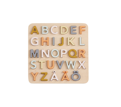 Swedish Alphabet Sorter - Wooden