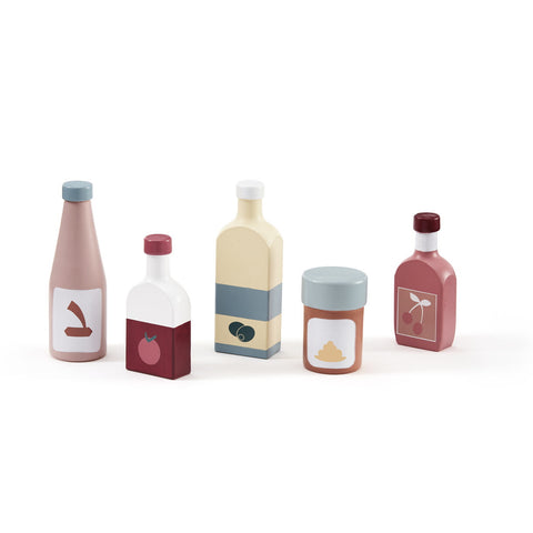 Pantry Bottle Set - Wooden