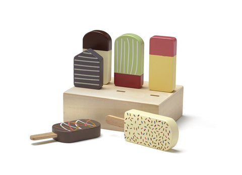 Ice Lolly Set - Wooden