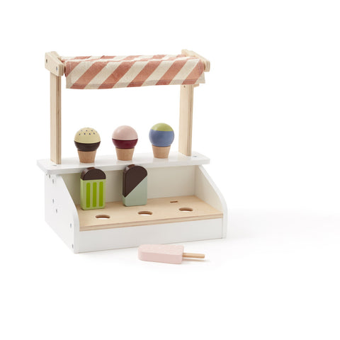 Ice Cream Stand - Wooden