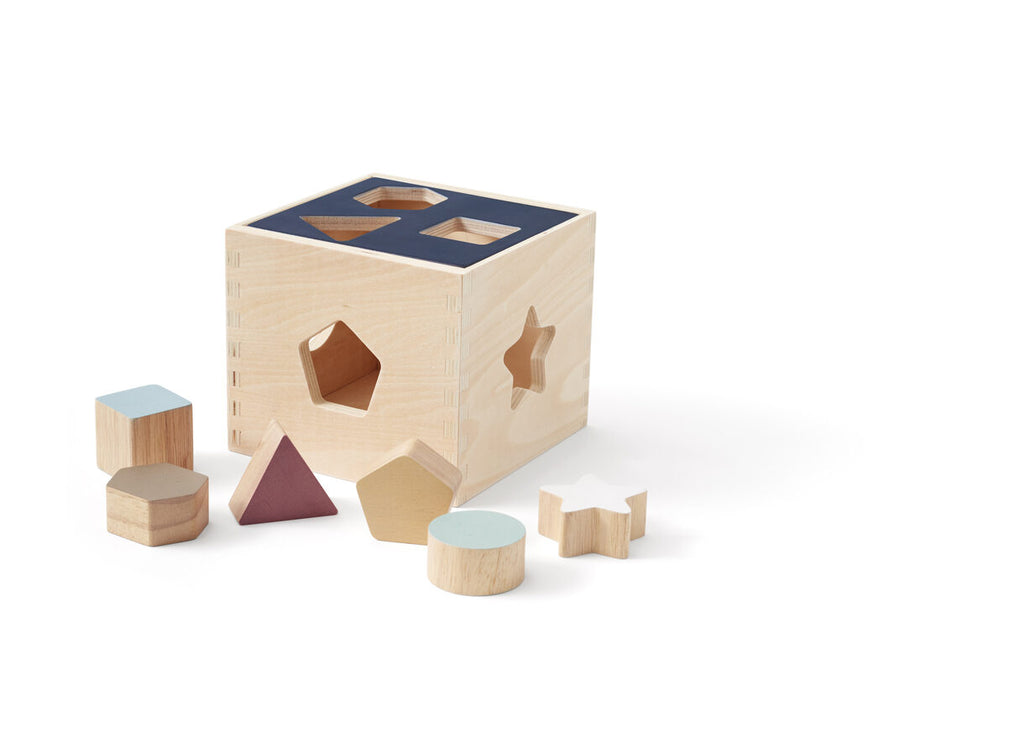 Shape Sorted Box - Wooden
