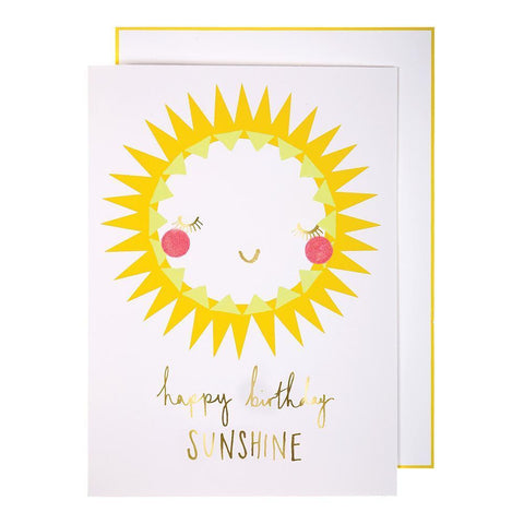 Greeting Card - Happy Birthday Sunshine