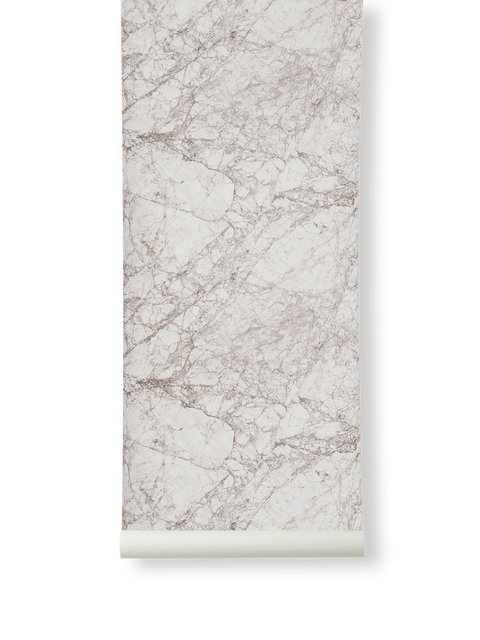 Wallpaper Roll - Marble - Grey