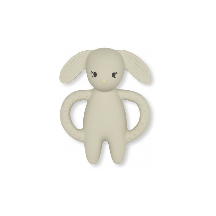 Teether - Natural Rubber - Rabbit