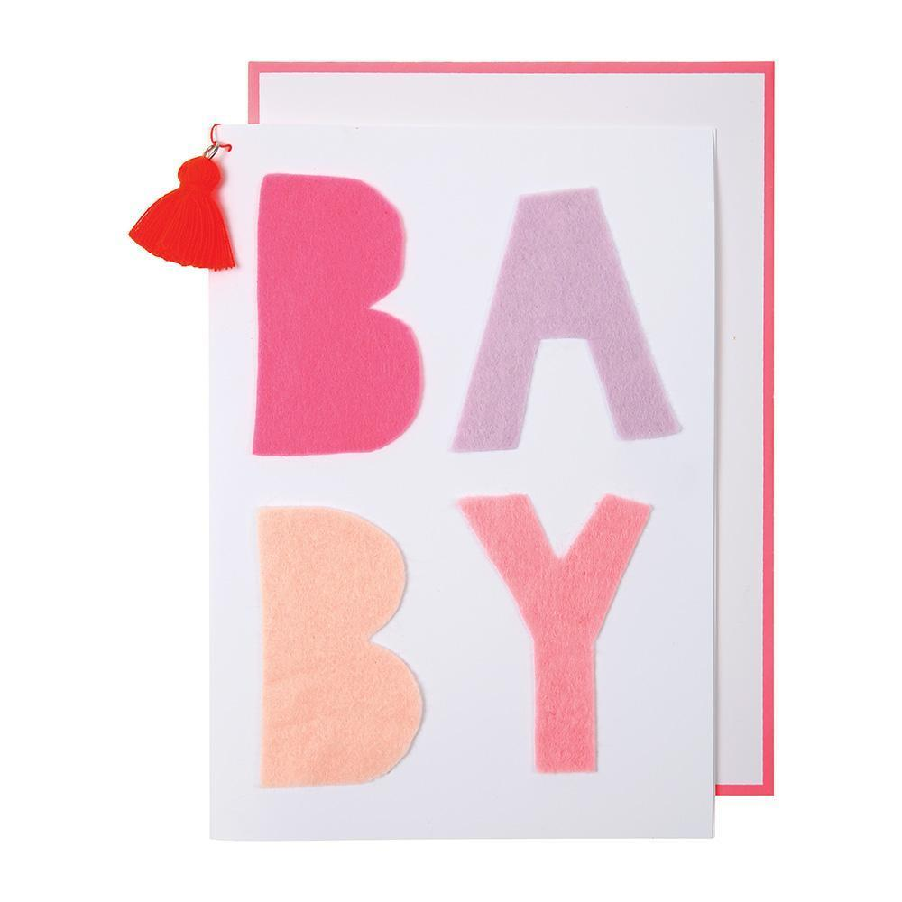 Greeting Card - Congratulations - Baby Pink