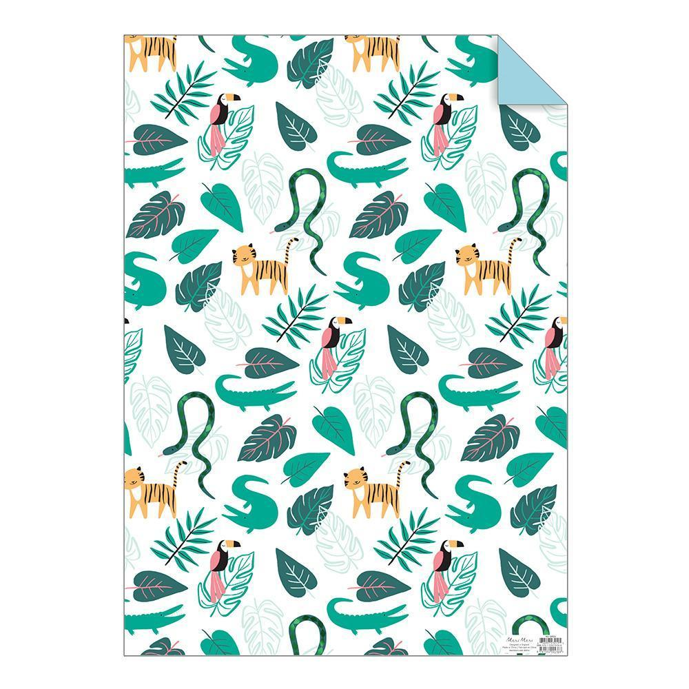 Wrapping Paper Sheets - Jungle