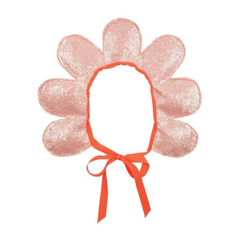 Flower Headdress With Ribbon - Pink