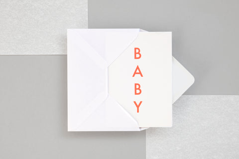 Greeting Card - Baby
