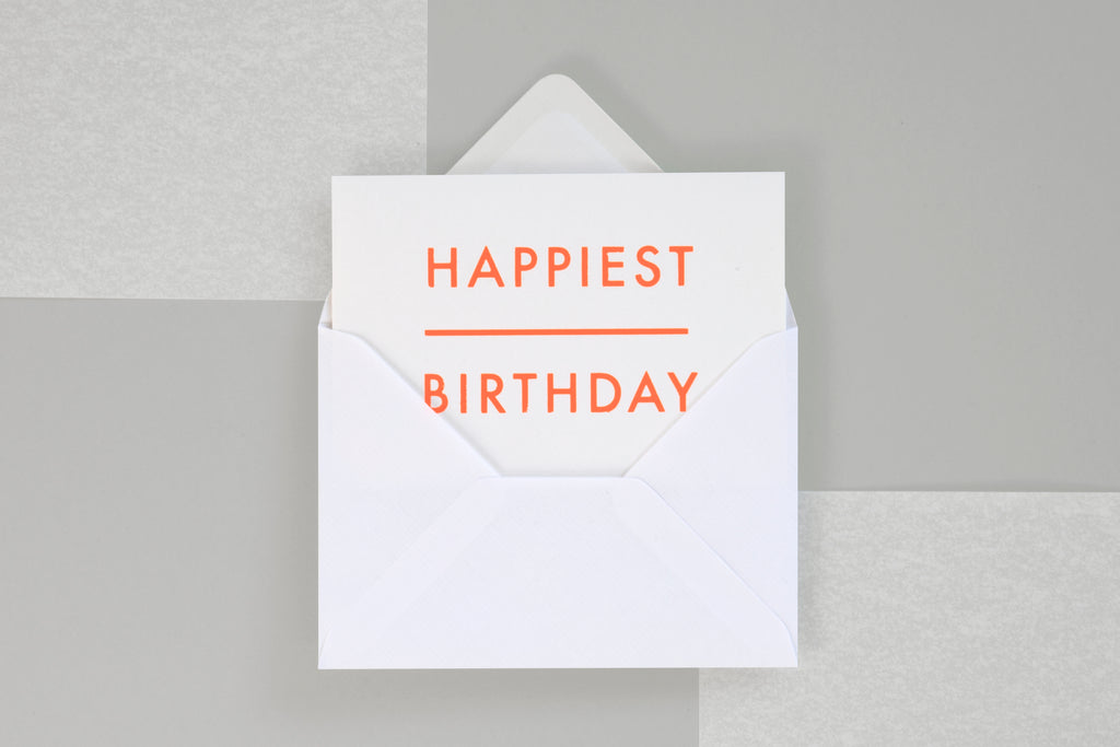 Greeting Card - Happiest Birthday